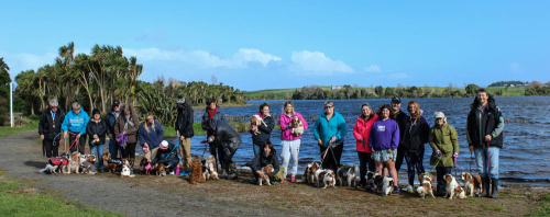 Group photo Kainui Lake 17.7.2016