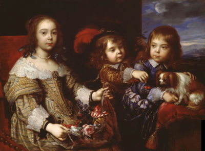 The Children of the Duc de Bouillon. 1647 by Pierre Mignard